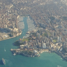 Marseilles from the sky
